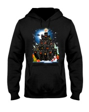 Black Cat Christmas 3007 Hooded Sweatshirt front