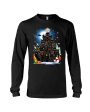 Black Cat Christmas 3007 Long Sleeve Tee thumbnail