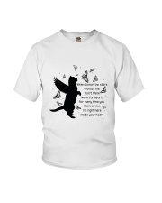 Cat your heart Youth T-Shirt thumbnail