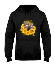 Cats and sunflowers Hooded Sweatshirt thumbnail