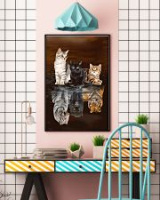 Cats Believe 11x17 Poster lifestyle-poster-6