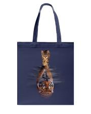 Cat and Tiger Tote Bag thumbnail
