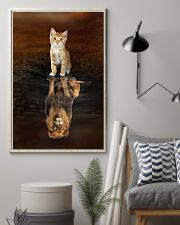 Cat and Lion 11x17 Poster lifestyle-poster-1