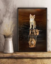 Cat and Lion 11x17 Poster lifestyle-poster-3