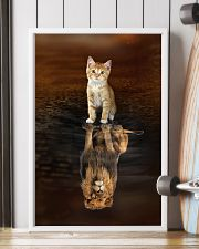 Cat and Lion 11x17 Poster lifestyle-poster-4