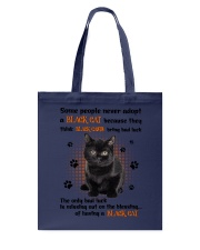 Lucky Have A Black Cat Tote Bag tile