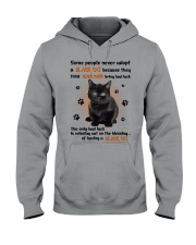 Lucky Have A Black Cat Hooded Sweatshirt thumbnail
