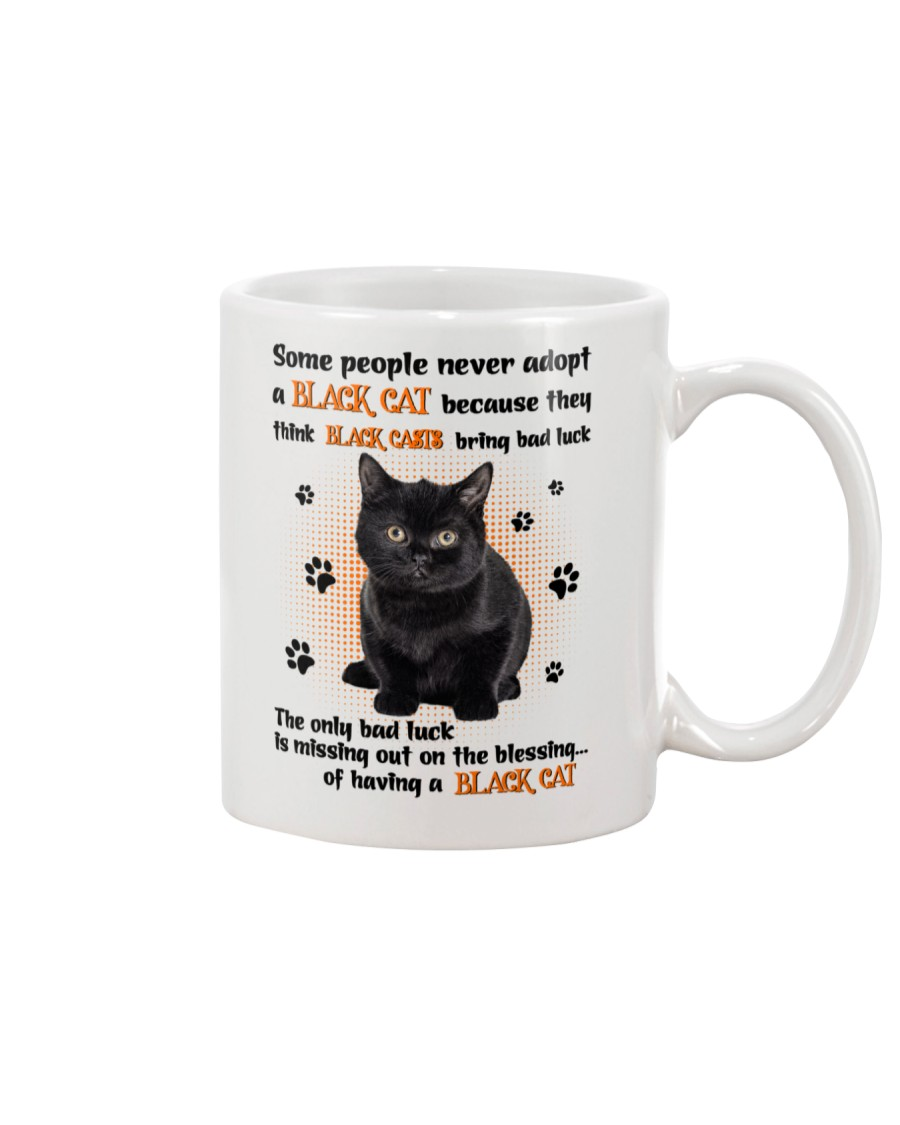 Lucky Have A Black Cat Mug