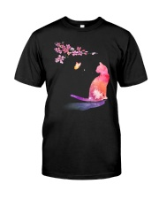 Cat in the spring Classic T-Shirt tile