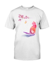 Cat in the spring Classic T-Shirt front