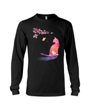 Cat in the spring Long Sleeve Tee thumbnail