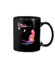 Cat in the spring Mug thumbnail