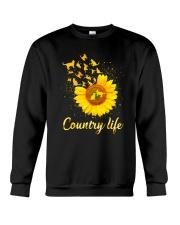 Cat Country Life 130319 Crewneck Sweatshirt thumbnail