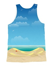 THEIA Cat Summer 2906 All-over Unisex Tank back