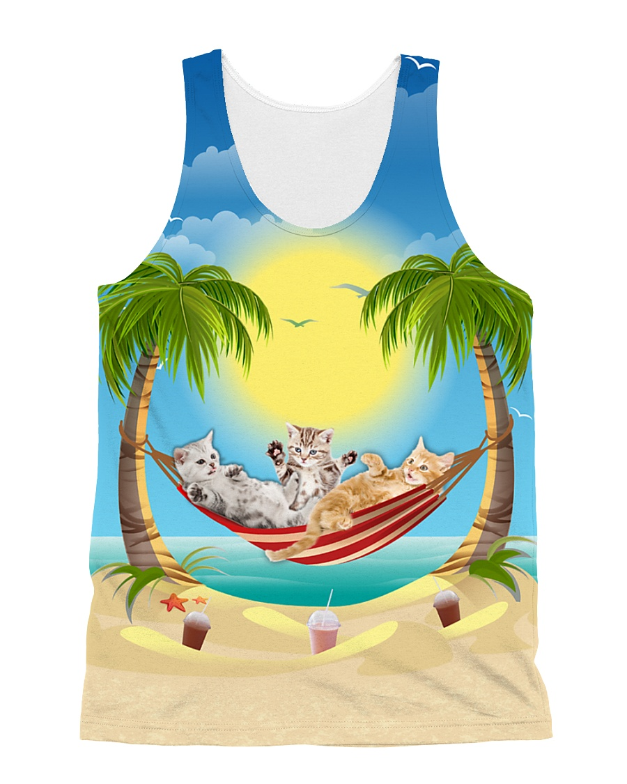 THEIA Cat Summer 2906 All-over Unisex Tank