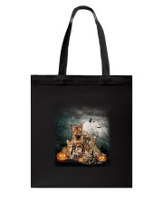 Bengal Halloween Tote Bag thumbnail