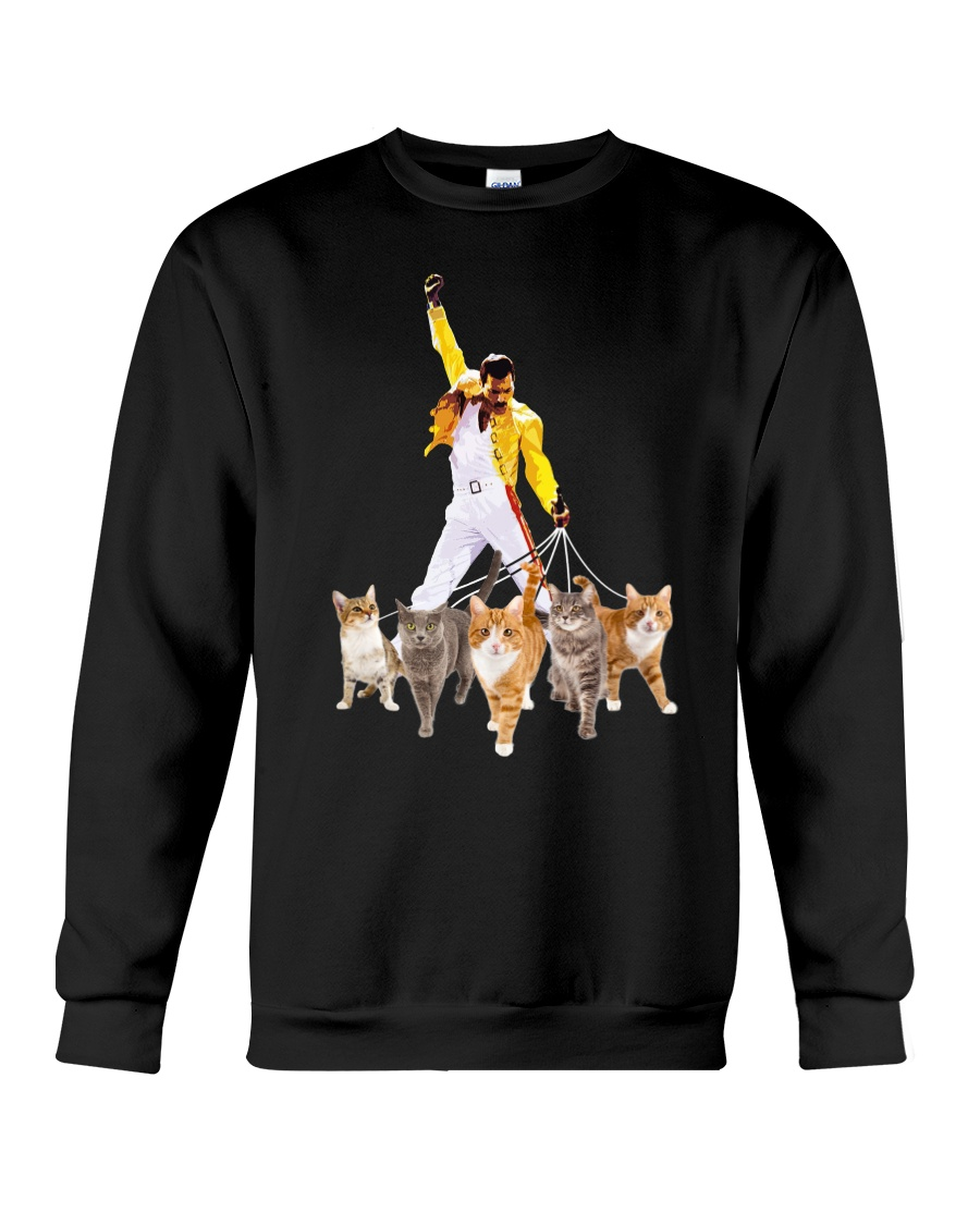 Cat Walk Crewneck Sweatshirt