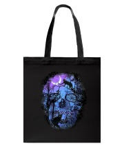 Black Cat Skull  Tote Bag thumbnail
