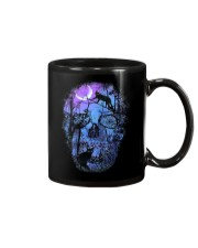 Black Cat Skull  Mug thumbnail