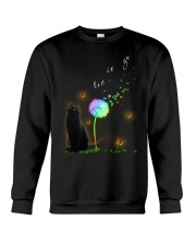 Black Cat Let It Go Crewneck Sweatshirt thumbnail