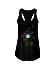Black Cat Let It Go Ladies Flowy Tank tile