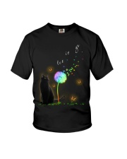 Black Cat Let It Go Youth T-Shirt tile