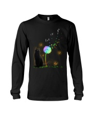 Black Cat Let It Go Long Sleeve Tee tile