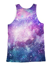 Maine cooncorn in the galaxy  All-over Unisex Tank back