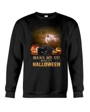 Blackcat Wake Me Up  Crewneck Sweatshirt front