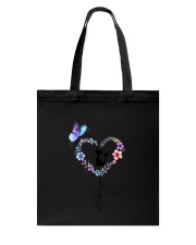 Butterfly and Cat I love you Tote Bag thumbnail