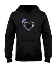 Butterfly and Cat I love you Hooded Sweatshirt thumbnail