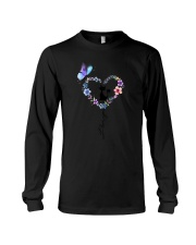 Butterfly and Cat I love you Long Sleeve Tee thumbnail