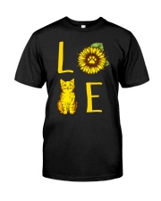 Love Meow Classic T-Shirt front