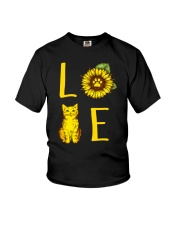 Love Meow Youth T-Shirt thumbnail