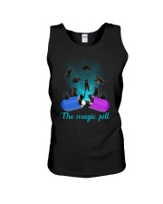 Black cat magic pill 2507 Unisex Tank thumbnail