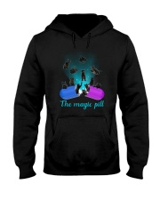 Black cat magic pill 2507 Hooded Sweatshirt thumbnail
