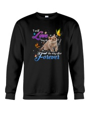 Love You The Day After Forever Crewneck Sweatshirt thumbnail