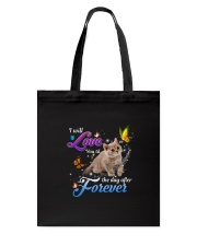 Love You The Day After Forever Tote Bag thumbnail