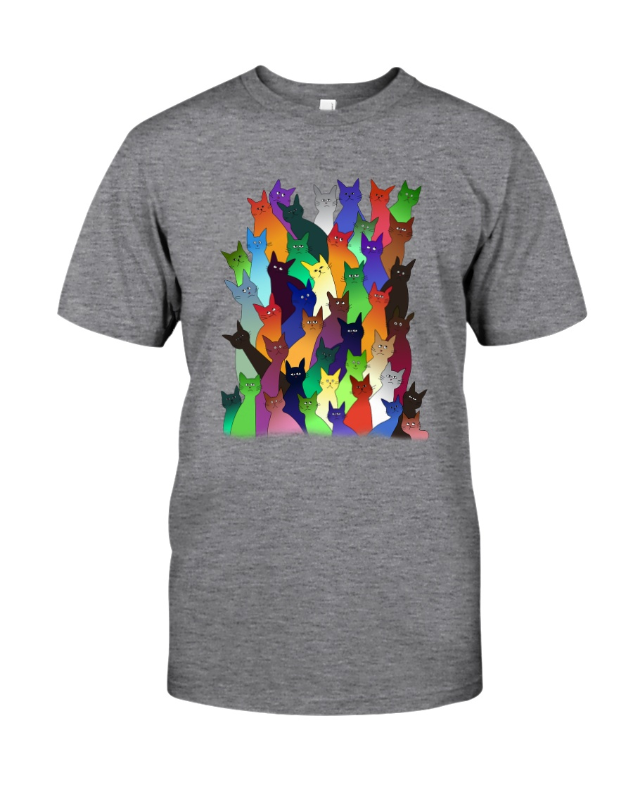 Cats Colorful 1709 Classic T-Shirt