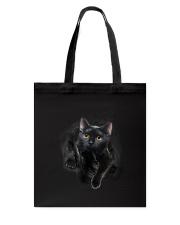 Black Cat Hello 1009 Tote Bag thumbnail