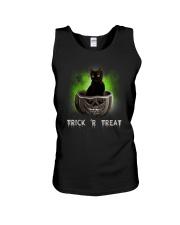 Black cat Trick or Treat 0808 Unisex Tank thumbnail
