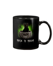 Black cat Trick or Treat 0808 Mug thumbnail