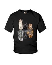 Cats Dreaming Youth T-Shirt thumbnail