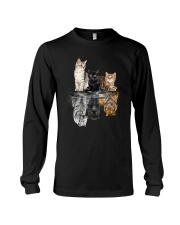 Cats Dreaming Long Sleeve Tee thumbnail