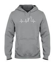 Cat Heartbeat Hooded Sweatshirt thumbnail