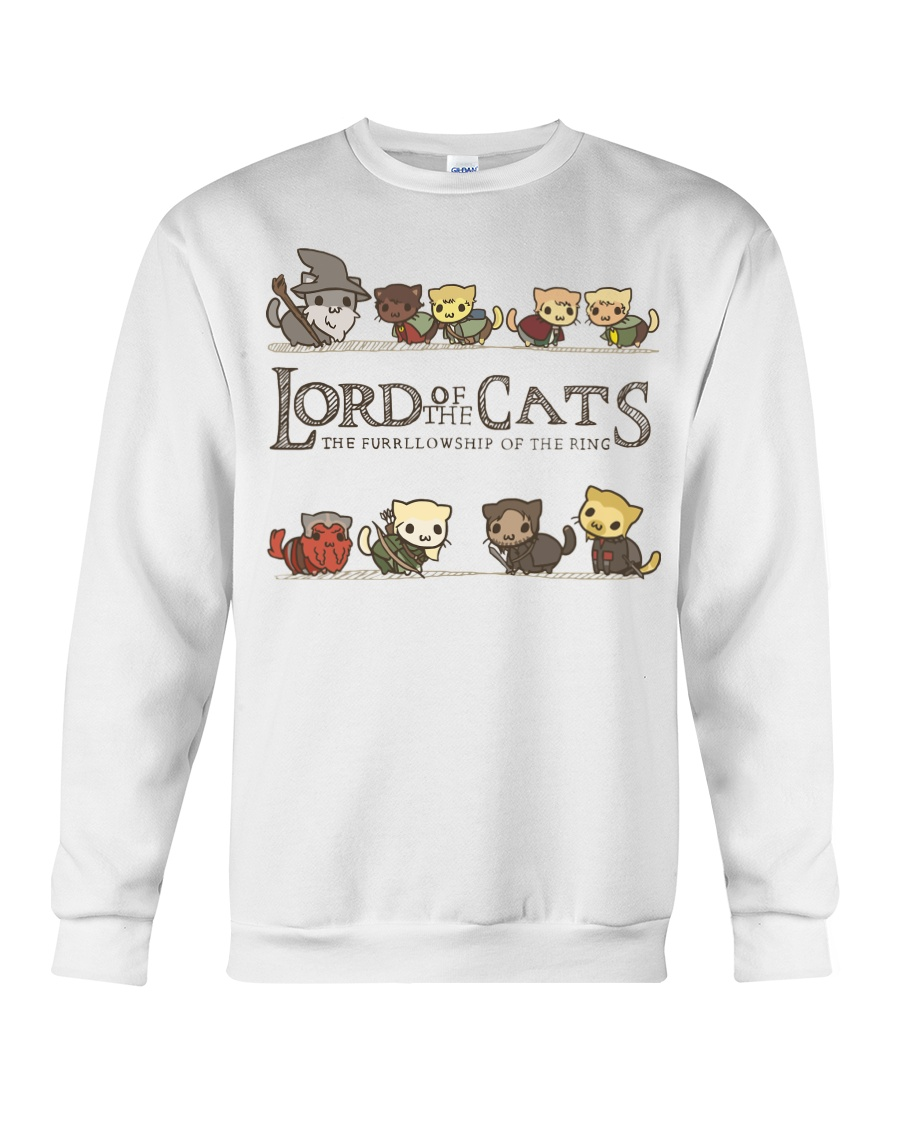 Lord Of The Cats New Crewneck Sweatshirt