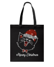 Meowy Christmas Tote Bag thumbnail