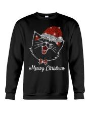 Meowy Christmas Crewneck Sweatshirt front