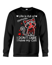 Cat Obstacles Crewneck Sweatshirt thumbnail