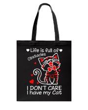 Cat Obstacles Tote Bag thumbnail